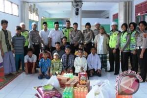 Satlantas Polres Biak kunjungi Panti Asuhan Hidayatullah