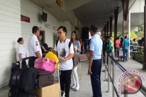 Penerbangan dari Timika padat penumpang mudik Lebaran
