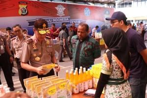 Polda Papua gelar pasar murah