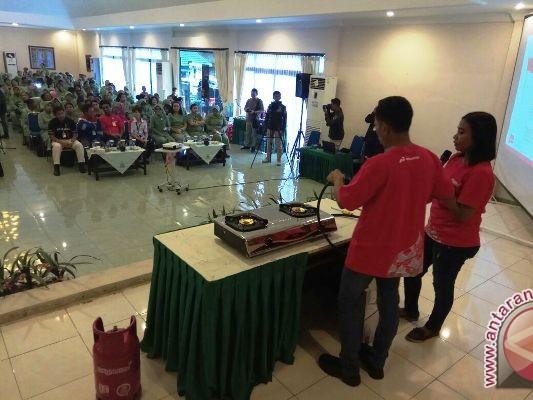 Pertamina Maluku-Papua sosialisasikan penggunaan elpiji yang aman