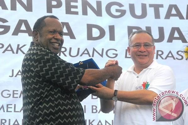 Papua deklarasikan pengutamaan bahasa pada ruang publik