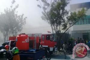 Polisi Jayapura selidiki kebakaran gudang Sinar Matahari
