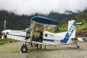 Pesawat AMA hilang kontak diduga akibat cuaca buruk