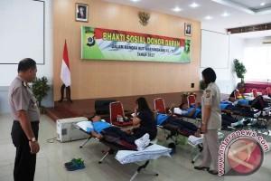 Polda Papua gelar bhakti sosial donor darah