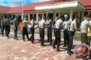 Polres Pegunungan Bintang Papua gelar halabihalal