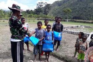 Satgas TMMD Kodim Jayawijaya berikan penyuluhan kesehatan