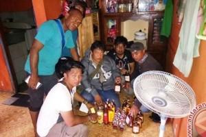 Polres Jayapura tangkap pembuat minuman beralkohol lokal