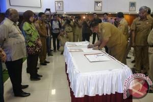 20 kabupaten di Papua sepakati aksi pemberantasan korupsi