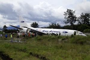 KNKT dalami penyebab pesawat Tri MG tergelincir