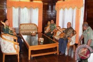 Pangdam Cenderawasih terima kunjungan Konsul Palau
