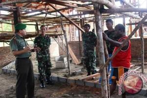 Dandim Paniai pantau perkembangan TMMD di Bomopai
