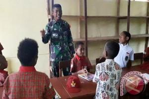 Satgas TMMD ajar wawasan nusantara di perbatasan RI-PNG