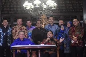 Pertemuan SBY dengan Prabowo