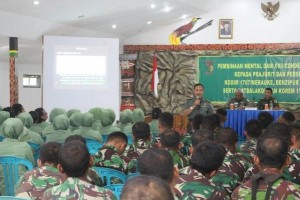 Bintaldam Cenderawasih gelar kegiatan pembinaan di Merauke