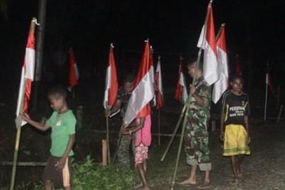TNI klaim kibarkan 1.717 bendera Merah Putih di basis OPM