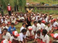 Menteri PPPA bersama anak-anak Jayawijaya