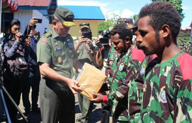 Wakasad pimpin penutupan TMMD ke-99 di Paniai
