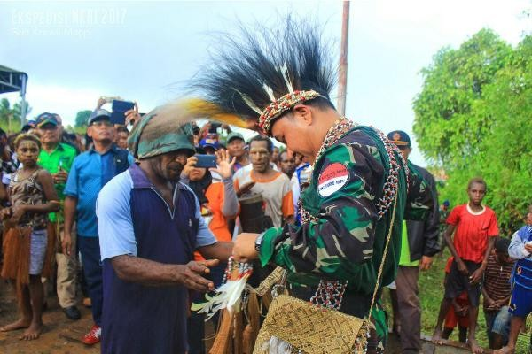 Tim Ekspedisi NKRI 2017 tiba di Mappi