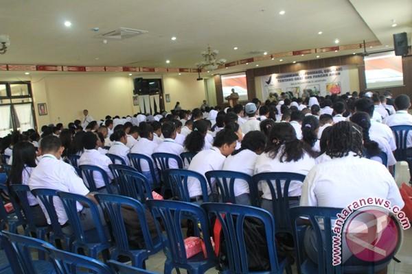 Ratusan siswa Jayapura ikut sosialisasi empat pilar kebangsaan
