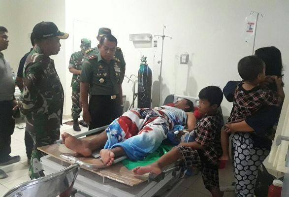 Danrem 174/ATW kunjungi kediaman korban konflik antarkelompok nelayan