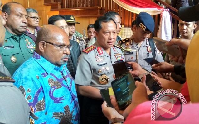Kapolri perintahkan jajarannya netral dalam Pilkada Papua
