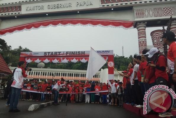 4.500 peserta ramaikan jalan sehat BUMN di Jayapura