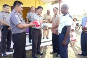 Kapolres Merauke bersilahturahmi dengan warga Rimba Jaya