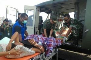 Tim Ekspedisi NKRI gunakan helikopter evakuasi ibu hendak melahirkan