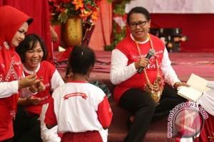 Menteri PPPA bangkitkan semangat perlindungan anak Papua