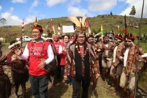 Menteri Yohana gandeng tokoh adat Lapago bahas PPPA