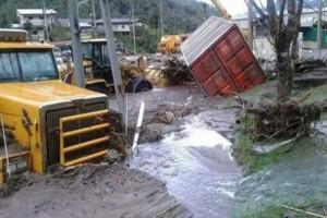 Ratusan karyawan Freeport dievakuasi akibat banjir dan tanah longsor