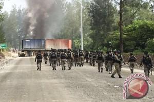 Kapolda: tak ada penambahan pasukan ke Timika pascaaksi bakar kendaraan