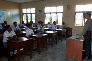 Polisi sosialisasikan bahaya narkoba kepada pelajar Nduga