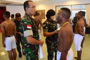 130 pemuda Papua ikut seleksi Bintara TNI-AD