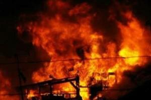 Pendukung Yulius-Yunus kembali bakar kantor pemerintah di Intan Jaya
