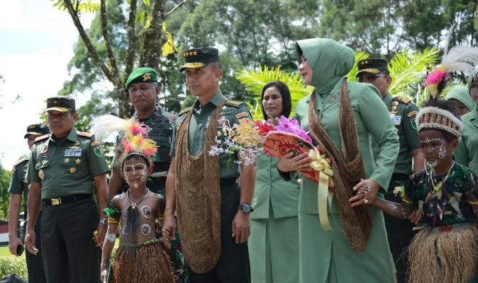 Kasad berkunjung ke Timika Papua