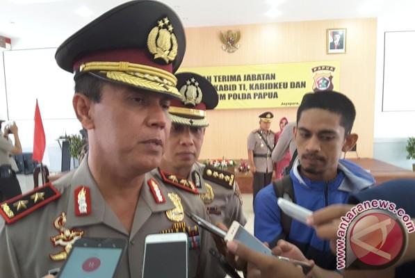 500 aparat Polri dan TNI amankan demo relawan Lukas Enembe