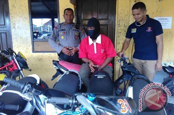 Polisi selidiki jaringan pencurian sepeda motor di Timika