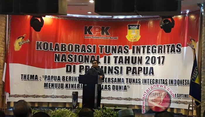 KPK apresiasi keikutsertaan kabupaten/kota se-Indonesia pada KTIN Papua