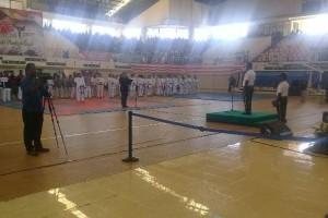Kasdam XVII/Cenderawasih buka kejuaraan karate Pangdam Cup 2017