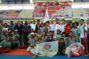 KKI Uncen juara umum Pangdam Cup 2017