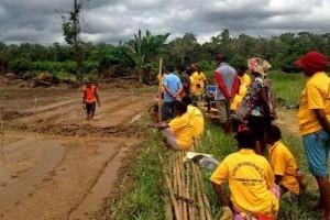 Tim Ekspedisi NKRI latih petani Mappi