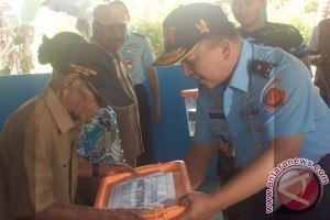 Kosek Hanudnas Biak rehab Balai Desa Urfu