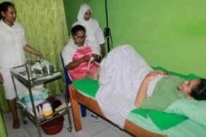 Kodim 1709/Yawa gelar pemeriksaan kesehatan khusus wanita