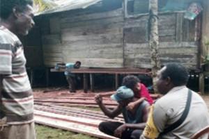 Bhabinkamtibmas ajak warga tidak blokade jalan akses Pasar Dafuar