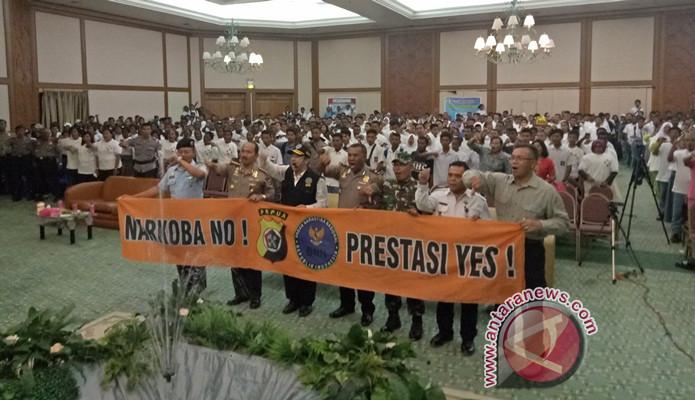 Polda Papua deklarasi antinarkoba di lima daerah