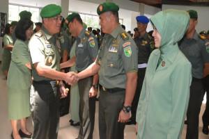 2.169 prajurit dan ASN Kodam Cenderawasih naik pangkat