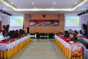 Badan legislasi DPR kunjungi Polda Papua