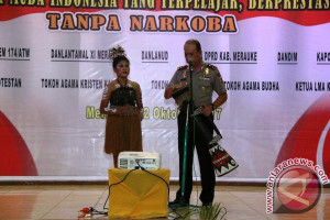 Kapolda Papua hadiri deklarasi antinarkoba di Merauke