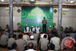 Polda Papua zikir dan doa bersama